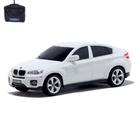 """Машина радиоуправляемая """"BMW X6"""", масштаб 1:24, работает от батареек, свет, МИКС"""