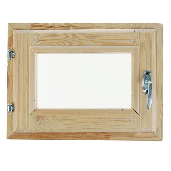 Окно 30х40 см, двойное стекло, уплотнитель, хвоя