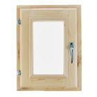 Окно 40х30 см, двойное стекло, уплотнитель, хвоя