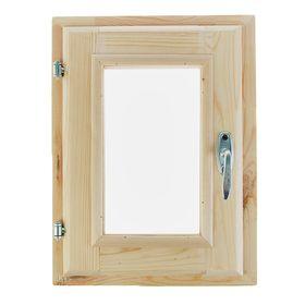 Окно (хвоя) 40х30см, двойное стекло, уплотнитель,