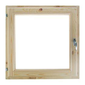 Окно (хвоя) 50х50см, двойное стекло, уплотнитель,
