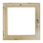 Окно (хвоя) 60х60см, двойное стекло, уплотнитель