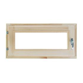 Окно, 30×60см, однокамерный стеклопакет, из липы