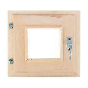 Окно 30х30см, двойное стекло, уплотнитель,