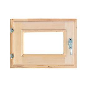 Окно с уплотнителем, 30 × 40 см, двойное стекло