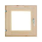 Окно 40х40 см, двойное стекло, уплотнитель