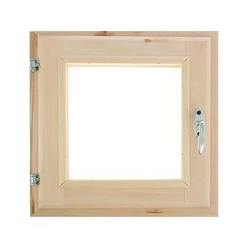 Окно 40х40см, двойное стекло, уплотнитель,