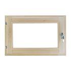 Окно 40х60 см, двойное стекло, уплотнитель
