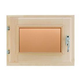 Окно 30х40см, двойное стекло, тонированное, уплотнитель,