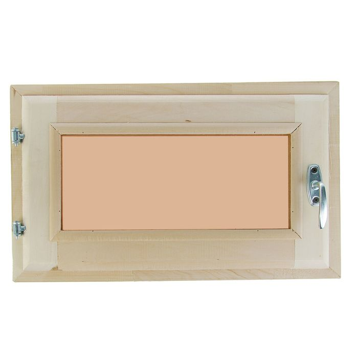 Окно 30х50 см, двойное стекло, тонированное, уплотнитель