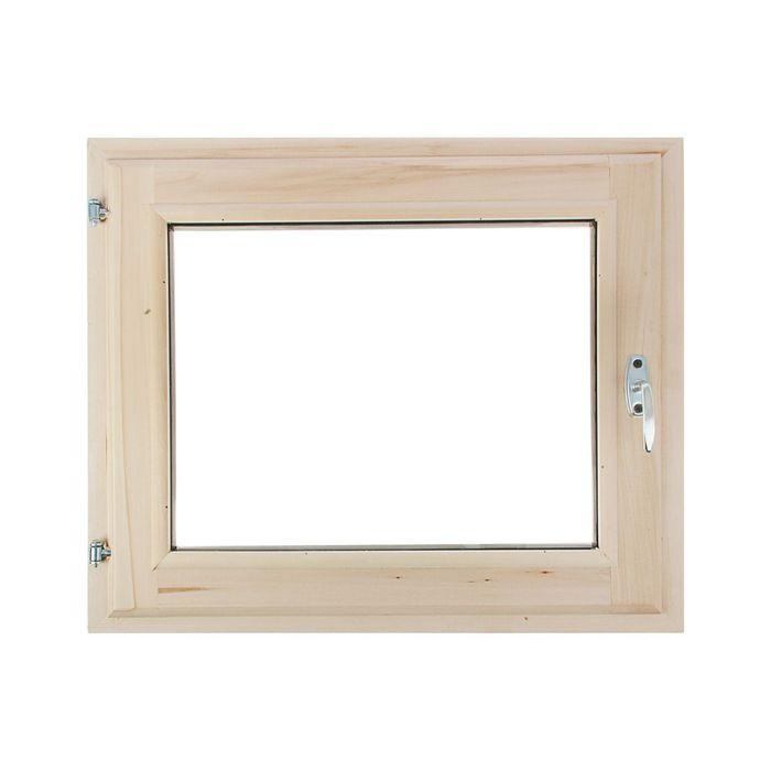 Окно, 50×70см, двойной стеклопакет, с уплотнителем, из липы