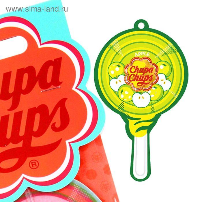 Ароматизатор подвесной двойная пропитка Chupa Chups, яблоко (CHP704)