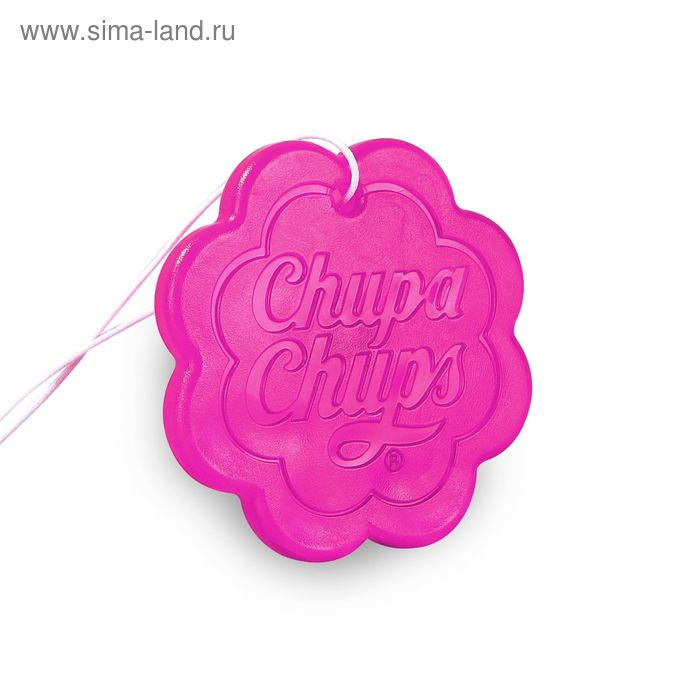 Ароматизатор подвесной гелевый Chupa Chups, клубника со сливками, 18 г (CHP500)