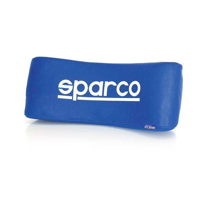 Упор под шею Sparco, перфорированная экожа, синий (SPC/NEC-001 BL)