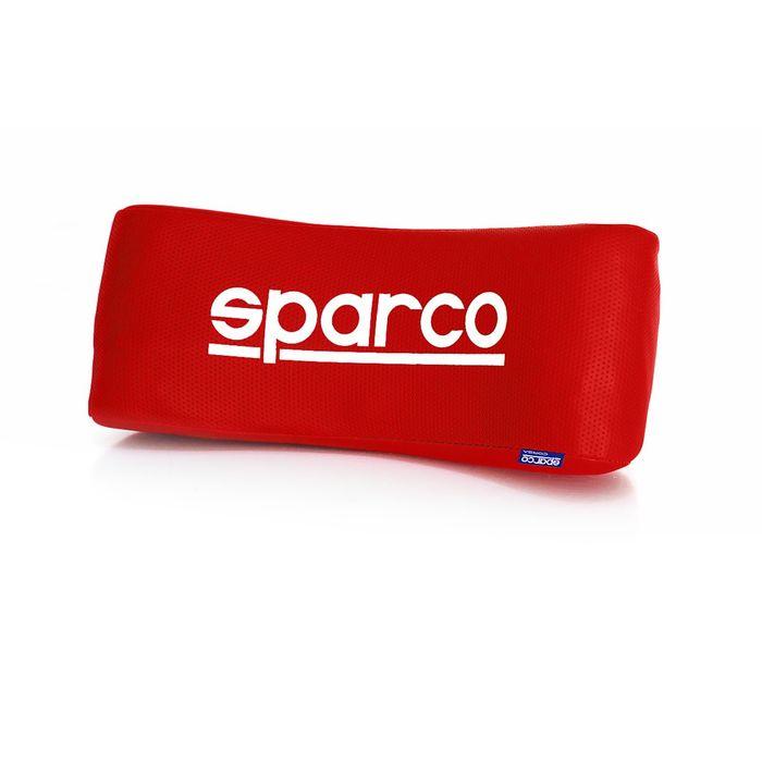 Упор под шею Sparco, перфорированная экожа, красный (SPC/NEC-001 RD)
