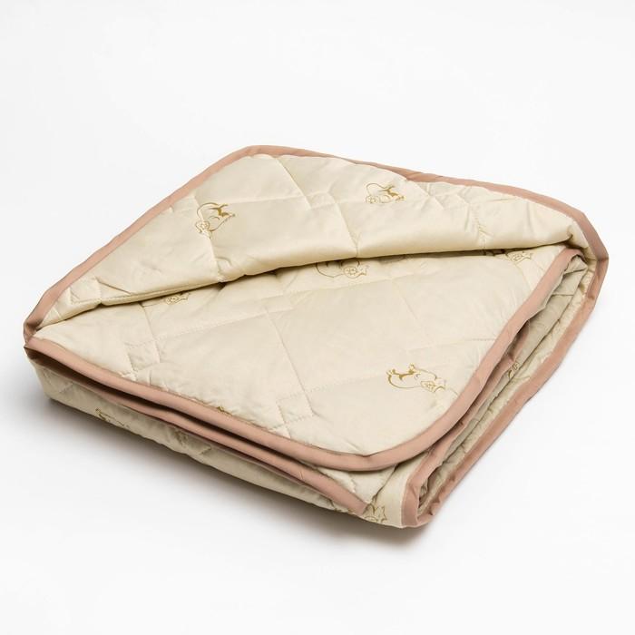 Одеяло 140*205 полиэстер, овечья шерсть 150г/м, сумка, МИРОМАКС - фото 62376