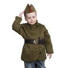 Костюм военного: телогрейка, пилотка, ремень, размер 36, рост 140 см