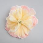 Персиковый цветок для декора