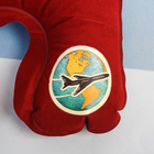 Подушка надувная «Путешествую вокруг света» 40 х 26,5 см - фото 4639367