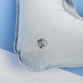 Подушка надувная «Счастливого пути» 40 х 26,5 см - фото 4639416