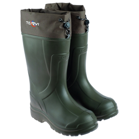 Boots, 5-layer insert, up to -45 ° C, size 40-41, olive color.
