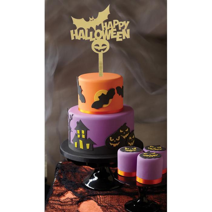 """Топпер в торт """"Хеллоуин"""""""