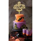 Топпер в торт «Счастливого хэллоуина», фетр