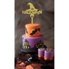"""Топпер в торт """"Хэллоуин"""", фетр"""