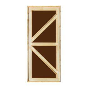 """Дверь для бани и сауны """"Бавария"""", 160х80см"""