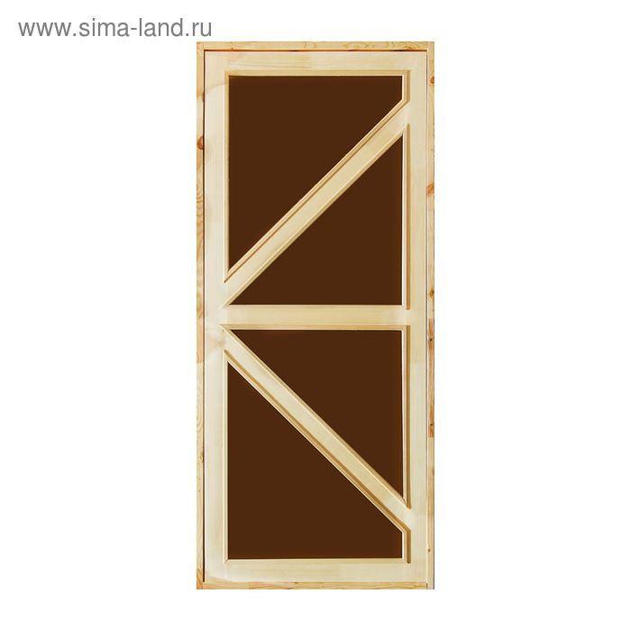 """Дверь для бани и сауны """"Бавария"""", 180х80см"""