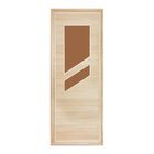 """Дверь для бани и сауны """"Стекло"""", 160х80см"""