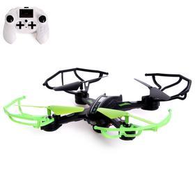Квадрокоптер DH-X11DW, камера 0,3 Mpx, передача изображения на смартфон, Wi-Fi, барометр, цвет чёрно-зелёный