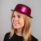 Carnival hat with oval rim, shiny, R-R 56, MIX color