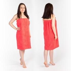 Kilt (skirt) female Terry, 80x150 + -2, color coral