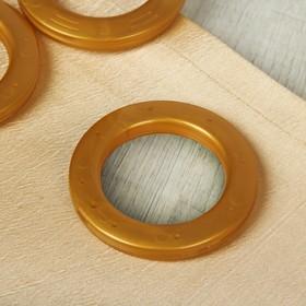 Curtain eyelets, d=4/6,5 cm, 10pcs green