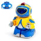 Робот радиоуправляемый «Минибот», световые эффекты, цвет жёлтый