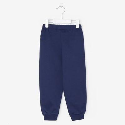 Брюки для мальчика, рост 116 см, цвет тёмно-синий