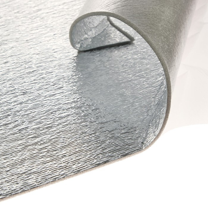 Звукоизоляционный материал StP Барьер 4 ЛМ КС, металлизированная пленка, размер: 4х750х1000 мм