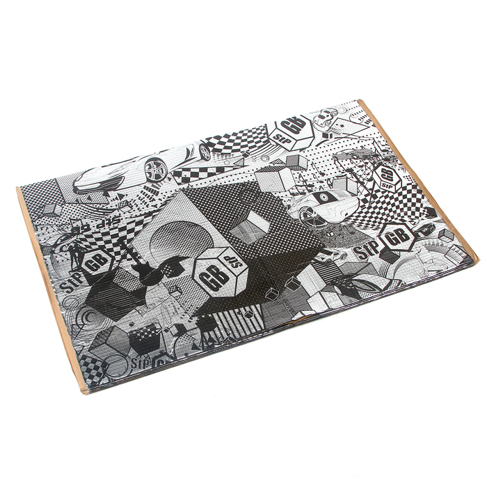 Виброизоляционный материал StP GB 2, размер: 2х470х750 мм