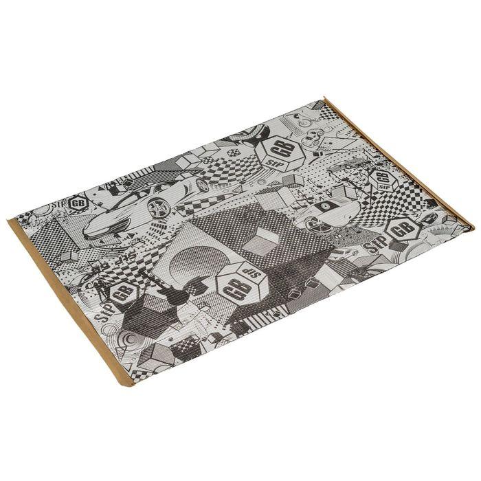 Виброизоляционный материал StP GB 3, размер: 3х350х570 мм