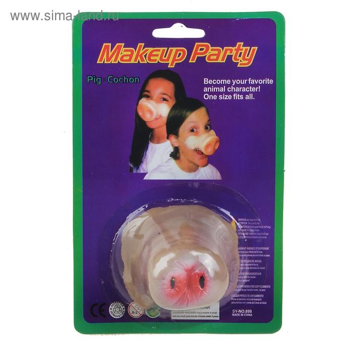 "Нос на блистере ""Свинка"""