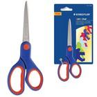 Ножницы 17см Staedtler прорезин ручки, сине-красные, европодвес 965 14 NBK