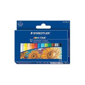 Пастель масляная художественная 12 цветов STAEDTLER Noris Club 241 NC12