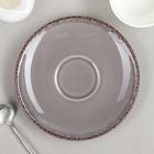 Блюдце d=16,4 см Cappuccino Fortuna, цвет серый