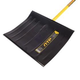 Лопата металлическая радиусная «Русич», ковш 460 × 360 мм, металлический черенок с ручкой Ош