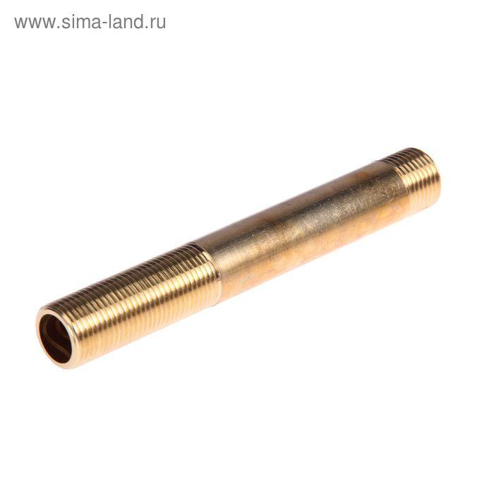 """Сгон JIF 432 BR, 1/2"""" наружная резьба, 150 мм, латунь"""