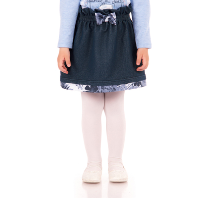 "Юбка для девочки ""Страна чудес"", рост 92 см (50), цвет тёмно-синий"
