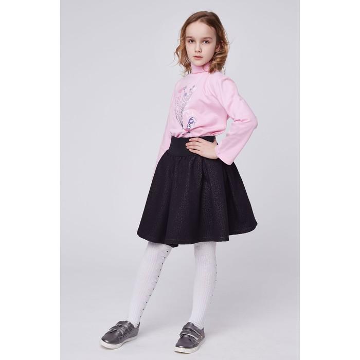 """Юбка для девочки """"Каприз"""", рост 128 см (64), цвет чёрный"""