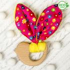 Развивающая игрушка-грызунок «Для маленьких принцесс», форма птичка
