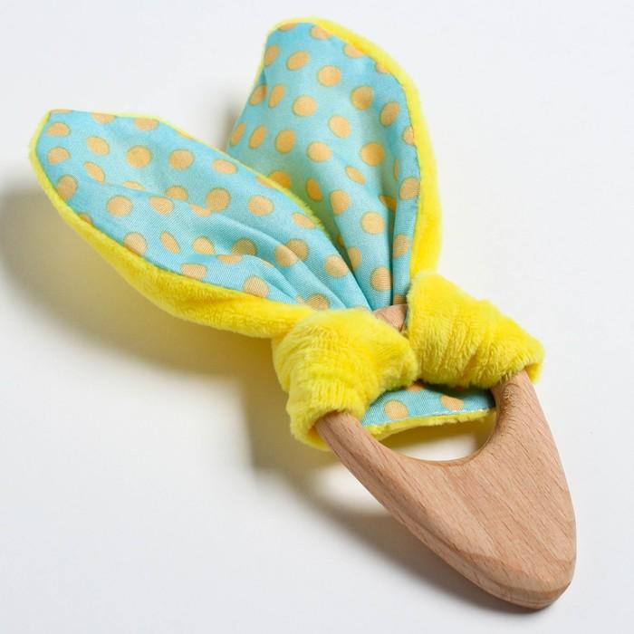 Развивающая игрушка-грызунок «Для малышей», форма морковка